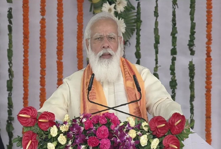 pm narendra modi visit in varanasi for inauguration of rudraksh convention centre live update news