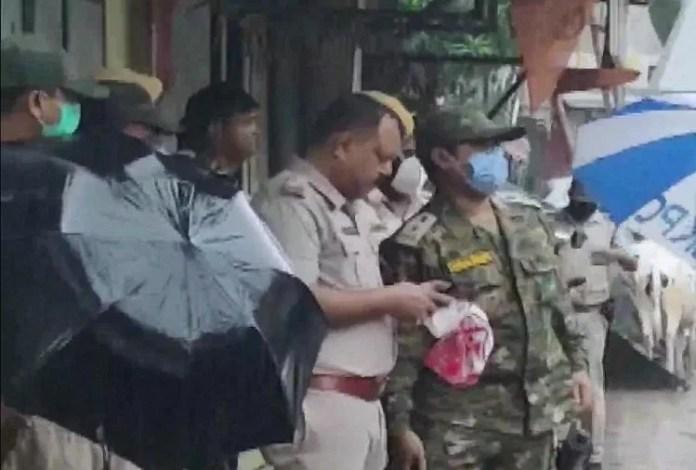 अर्जुन सिंह के घर पर फिर से बममारी