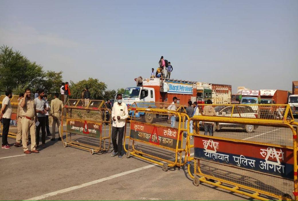 After The Dm's Order Ban On Movement Between Delhi-noida Media ...
