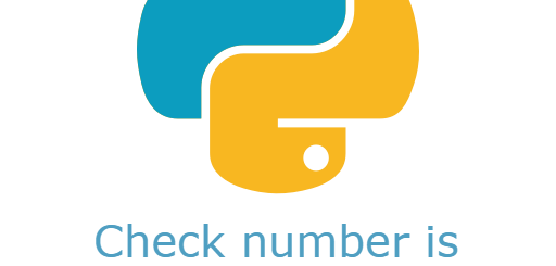 check number is even or odd using python
