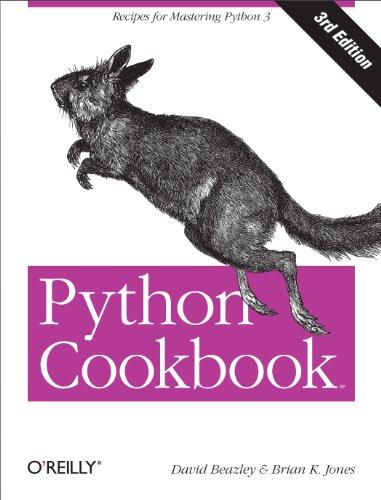 Python Cookbook (3rd Edition)
