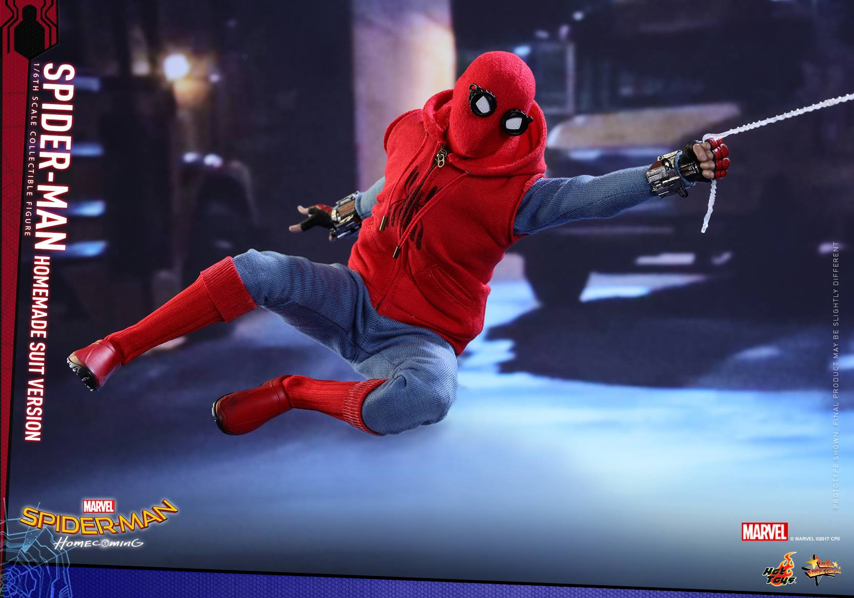 Homecoming Hot Toy (HomeMade Suit)