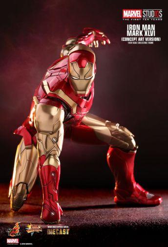 Hot Toys - Iron Man Mark XLVI - Concept Ver - 01