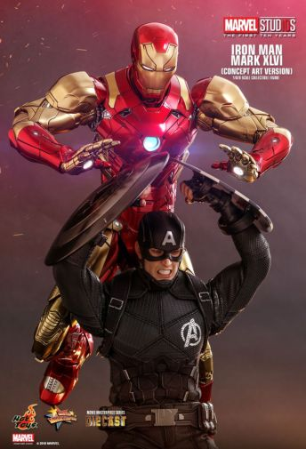 Hot Toys - Iron Man Mark XLVI - Concept Ver - 02