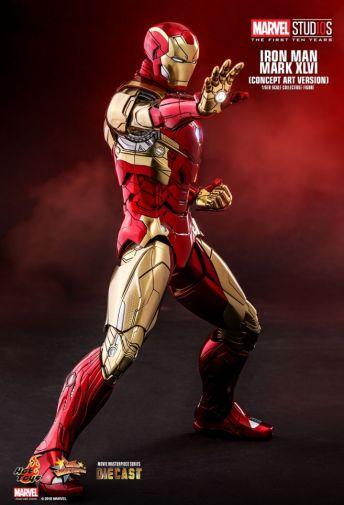 Hot Toys - Iron Man Mark XLVI - Concept Ver - 08