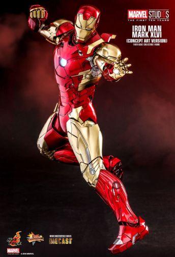 Hot Toys - Iron Man Mark XLVI - Concept Ver - 11