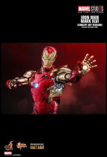 Hot Toys - Iron Man Mark XLVI - Concept Ver - 15