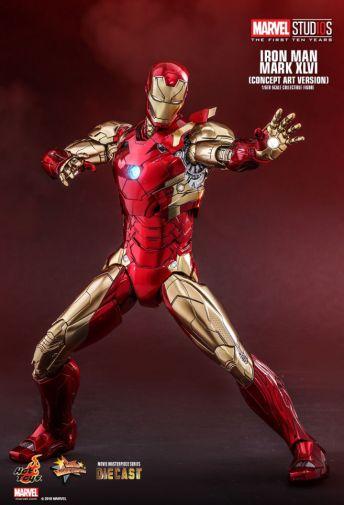 Hot Toys - Iron Man Mark XLVI - Concept Ver - 16