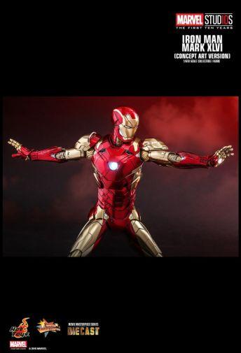 Hot Toys - Iron Man Mark XLVI - Concept Ver - 18