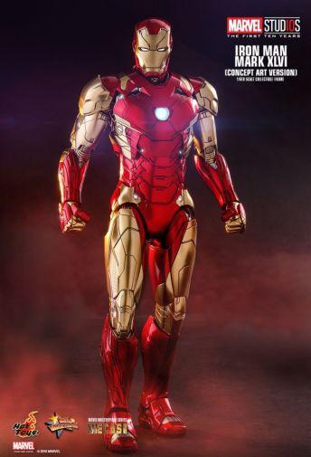 Hot Toys - Iron Man Mark XLVI - Concept Ver - 23