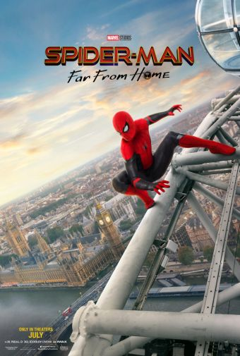 Spider-Man Far From Home - Official Images - Movie Poster - 03