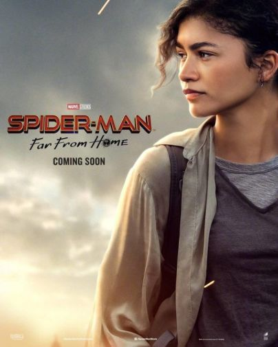 Spider-Man Far From Home - Official Images - Character Poster - MJ