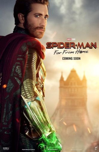 Spider-Man Far From Home - Official Images - Character Poster - Mysterio