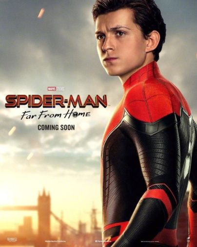 Spider-Man Far From Home - Official Images - Character Poster - Peter
