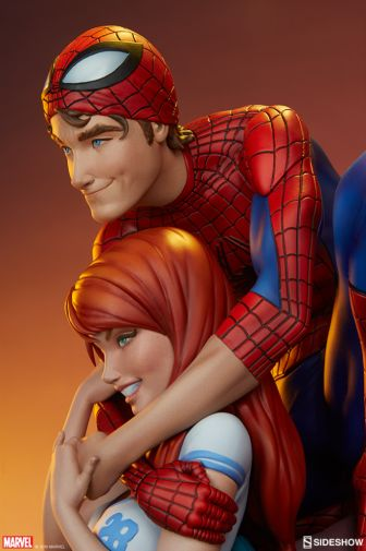 Sideshow - Spider-Man and Mary Jane - Maquette - 02