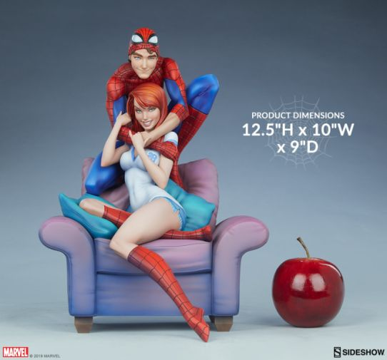 Sideshow - Spider-Man and Mary Jane - Maquette - 04