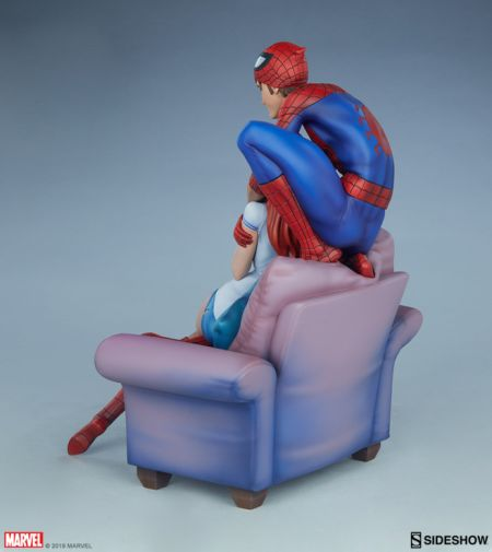 Sideshow - Spider-Man and Mary Jane - Maquette - 07