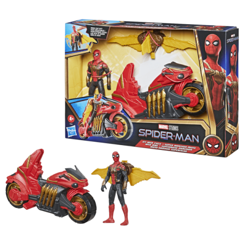 Hasbro - Spider-Man No Way Home - Jet Web Cycle - Announcement - 01