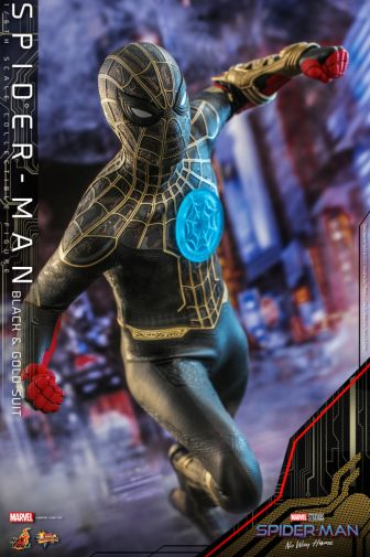 Hot Toys - Spider-Man - No Way Home - Black Suit - 07