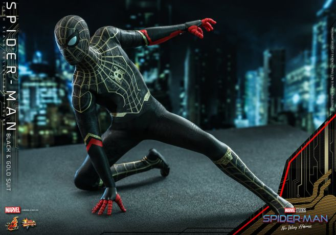 Hot Toys - Spider-Man - No Way Home - Black Suit - 14