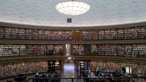 La biblioteca centrale