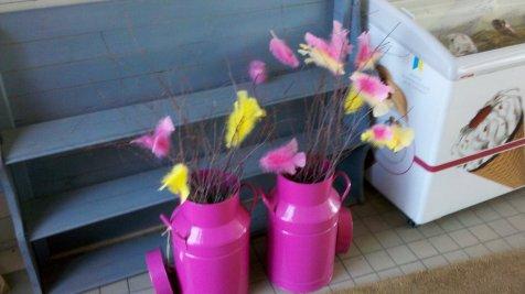 le piume colorate, simbolo pasquale svedese