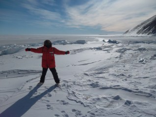 Me and the vastness of Antarctica.