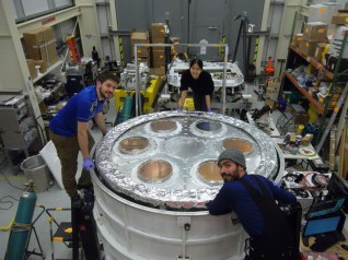 VCS2 (the outermost vapor-cooled shield) is finished being installed with filter stacks.