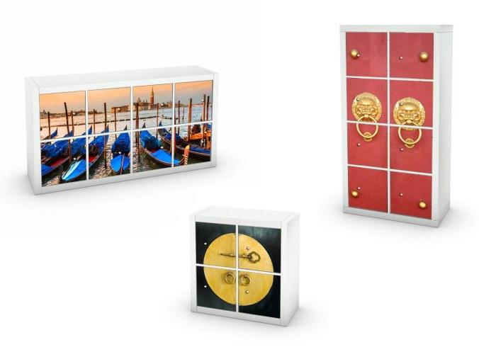 Kinlo pellicola da cucina bianca 0.4 * 5m fatta di adesivi in pvc per armadio carta da parati cucina pellicola adesiva mobili pellicola autoadesiva. Adesivi Per Mobili Ikea Ma Non Solo Spidersellitalia