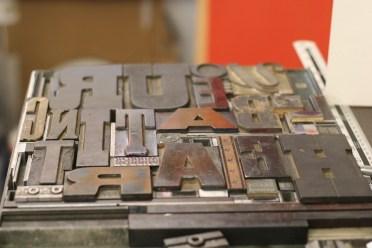Type Set at Whittington Press © Sarah Dixon 2015