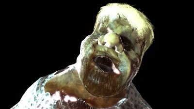 icon video zombie trump hand in world