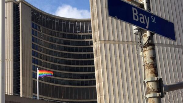 city hall pride