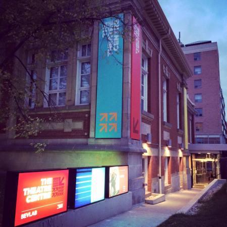 Theatre Centre outside