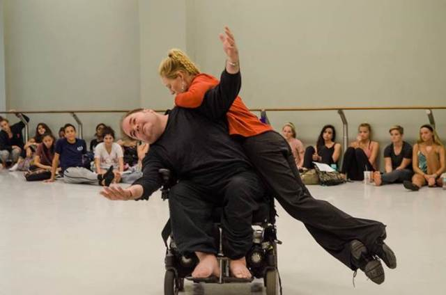 Frank Hull and Merry Lynn perform for the University of South Florida's dance majors. October 2015.