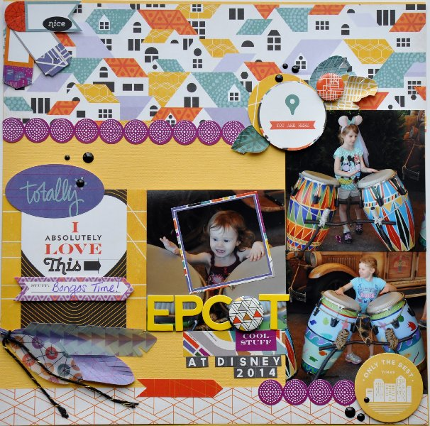 @jillibeansoup @thecutshoppe @cliquekits @jodyspiegelhoff @spiegelmomscraps, #masqueradeball #basicgrey #secondcity #kellypurkey #scrapbookkit #octoberkit #DIY #stickers #feathers #jillibeansoup #beanboard #fiskars #circepunch #saristrips #flair #diecuts