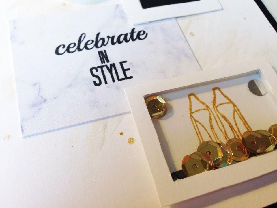 @spiegelmomscraps @amylee @thecraftbunny @thetonstamps, #spiegelmomscraps #thetonstamps #stamp #ink #cardmkaing #goldsequins #goldrush #sequins #celebrateinstyle