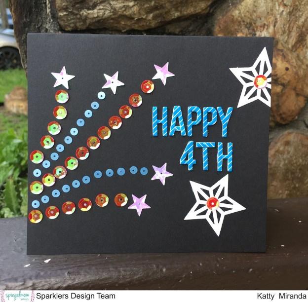 Happy 4th Card with Katty Miranda