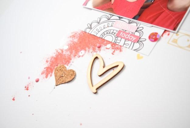 #SpiegelMom_Scraps #AmyTangerine #mixedmedia #cork #Shimmerz #exclusivesequins #PinkPaislee #scrapbooking #papercrafting #scrapbooklayout #woodveneer @spiegelMom_Scraps @PinkPaislee @AmyTangerine @Shimmerzpaints @Wordsandpaperscraps