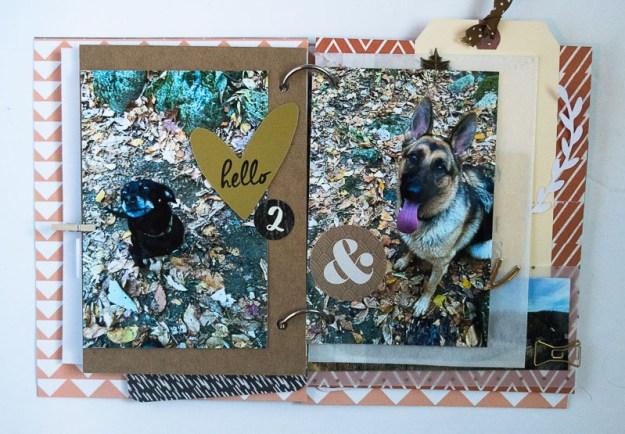 #SpiegelMomScraps #minialbum #autumn #sequins #scrapbooking #papercrafting #memorykeeping @SpiegelMom_Scraps @wordsandpaperscraps