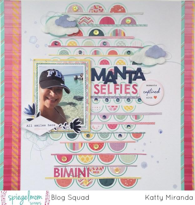 Manta Selfies Layout with Katty Miranda