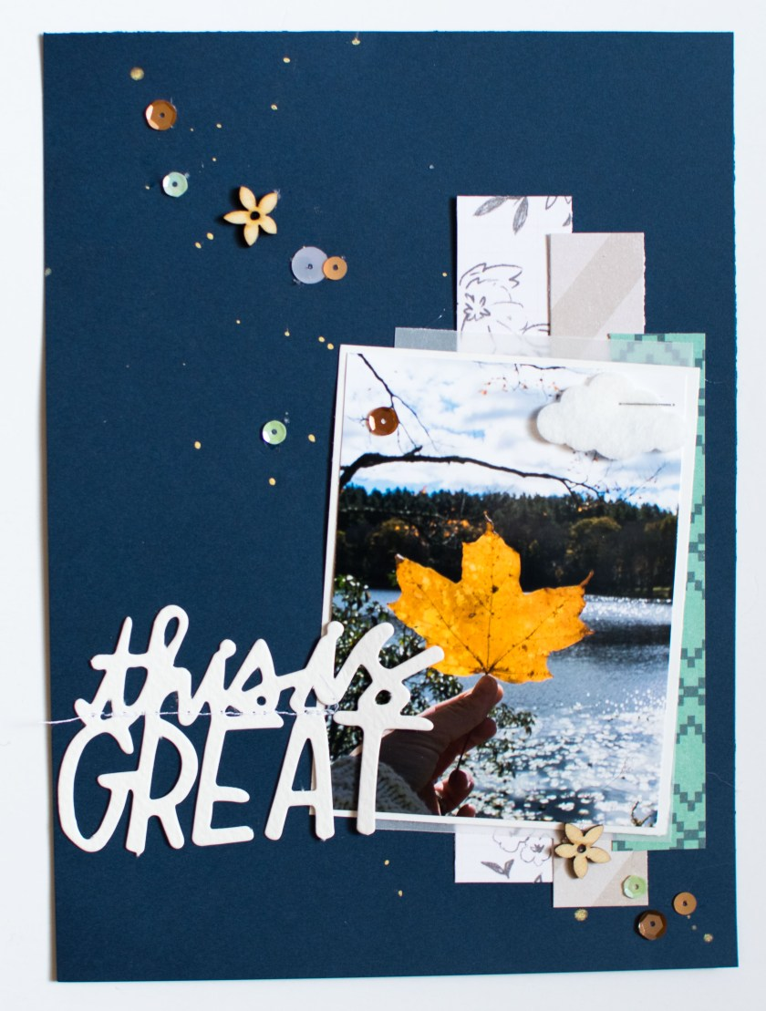 #minialbum #autumn #scrapbooking #papercrafting #shimmerz #sequins #spiegelmomscraps #LGSketchy #sketch #scrapchallenge #wermemorykeepers