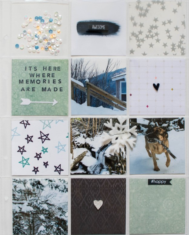 #ProjectLife #SpiegelMomScraps #CreatewithSMS #scrapbooking #pocketscrapbooking #shimmerzpaints #snowyday #exclusivesequins @spiegelmom_scraps @wordsandpaperscraps @Shimmerzpaints
