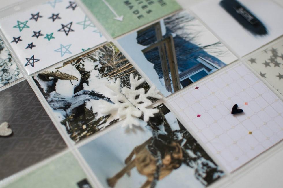 #ProjectLife #SpiegelMomScraps #CreatewithSMS #scrapbooking #pocketscrapbooking #shimmerzpaints #snowyday #exclusivesequins @spiegelmom_scraps @wordsandpaperscraps @Shimmerzpaints