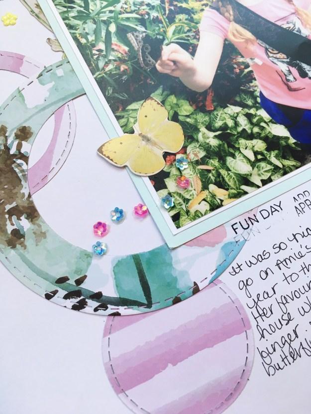 @jodyspiegelhoff @spiegelmomscraps @kaisercraft @timholtz @kattymiranda #smssequins #sequins #butterflies #12x12layout #scrapbooking #scrapbooklayout #scraplift #kaisercraft #circlestitcheddies #wildflower #patternedpaper #youareperfect #stitching