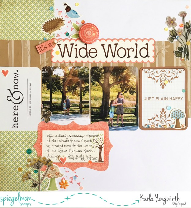 Scrapbooking with Karla – Scraplifting Jen Schow!