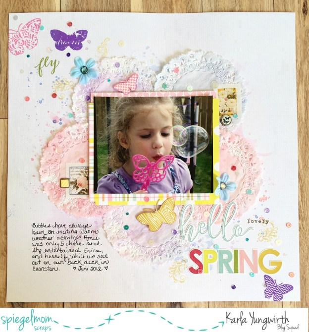 Scrapbooking with Karla – Scraplifting Jenn Gagne!