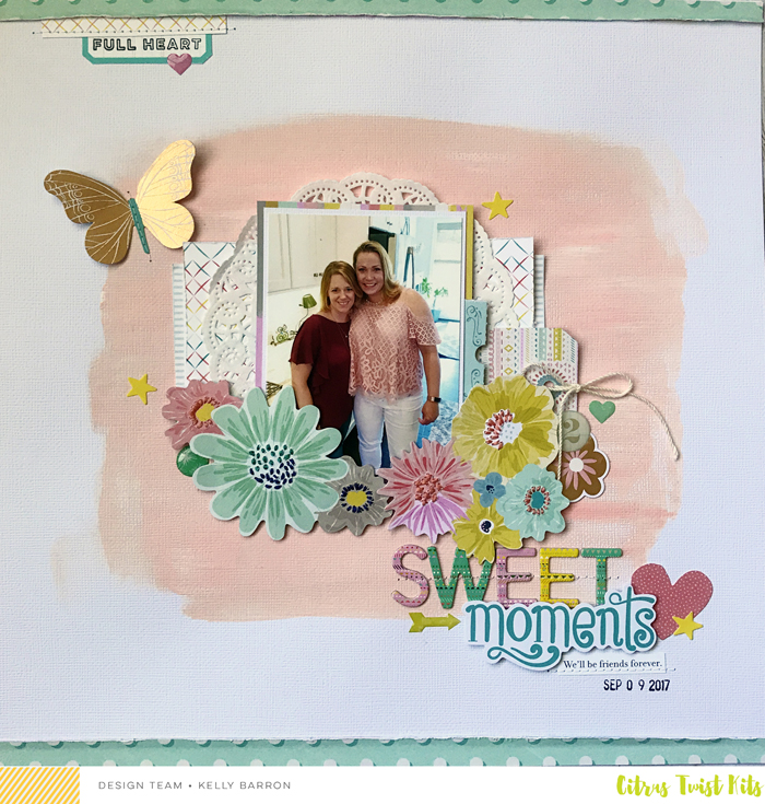 Hello Scrappy Friends and welcome back for another Make It Yours Monday! This week, we are being inspired by our October Guest Designer, Kelly Barron!!