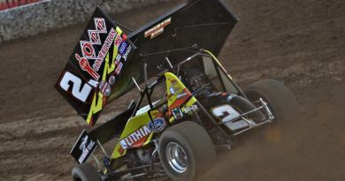 Austin Pierce, Austin Pierce Racing, sprint car, opp construction, lithia ford