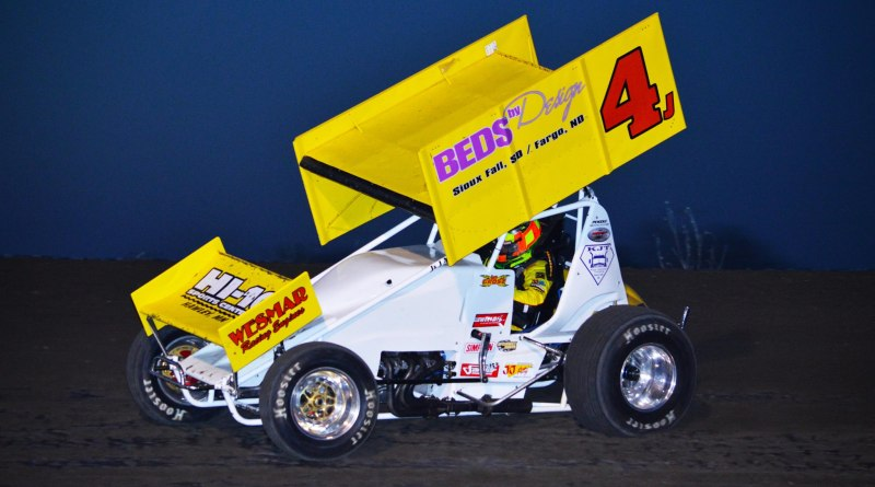 Lee Grosz, spieker promotion, mike spieker, beds by design, park jefferson speedway, nebraska 360 sprints, MSTS 360 sprints