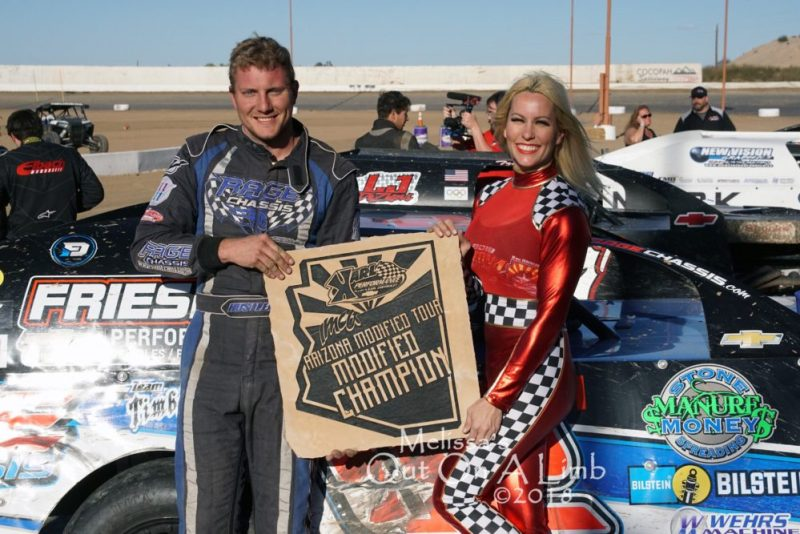 Hunter Marriott, Arizona Mod Tour, Cocopah Speedway
